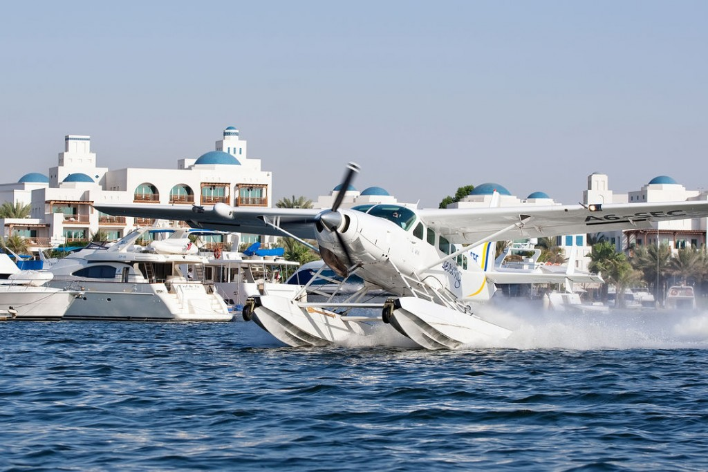 Seawings Seaplane in Motion